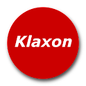 Klaxon Oncall Pager logo