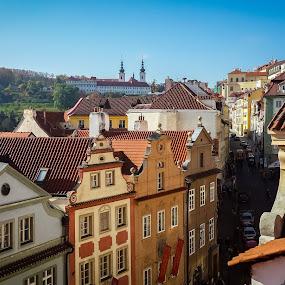 Prague - Czech Republic by Jamerson Rodrigues de Melo - Instagram & Mobile Android ( history, houses, sky, blue, vista, prague, city, rooftops )