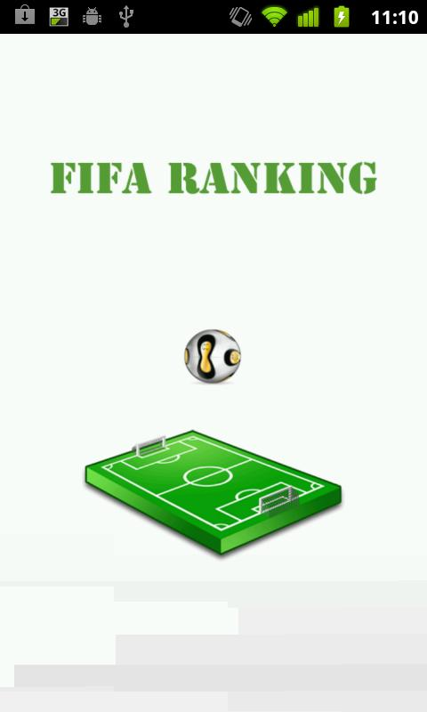 Fifa Ranking - screenshot