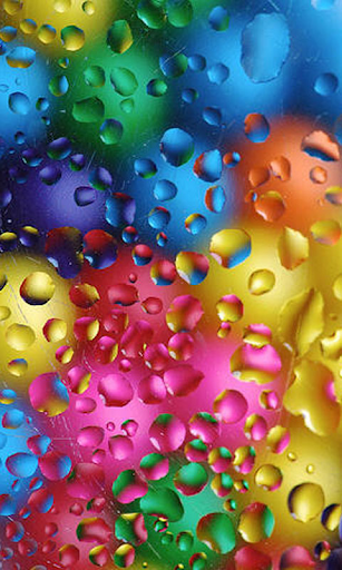 Colorful Water Drops LWP