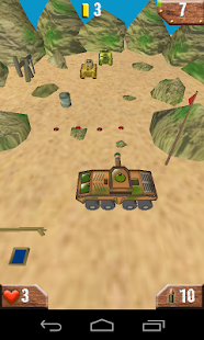 Tanks 3D - screenshot thumbnail