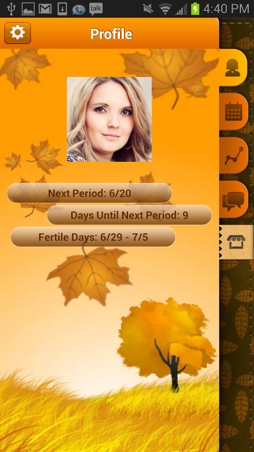 Period Tracker Pro (Pink Pad) - screenshot