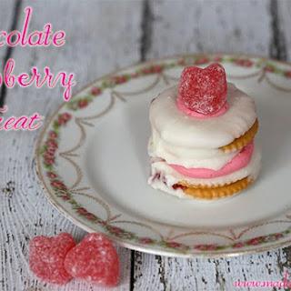 White Chocolate Raspberry Treat