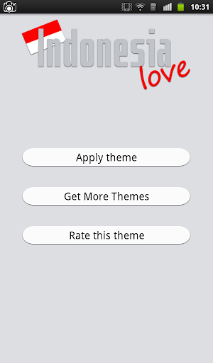 Indonesia Love Keyboard Theme