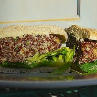 Quinoa, Shiitake and Nut Veggie Burger
