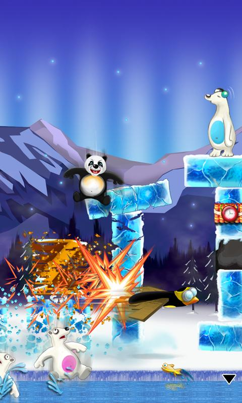 Crazy Penguin Assault Free- screenshot