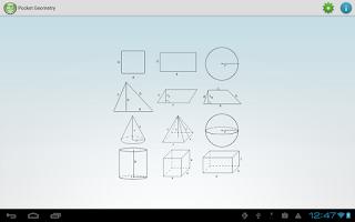 Screenshot of Pocket Geometry Free