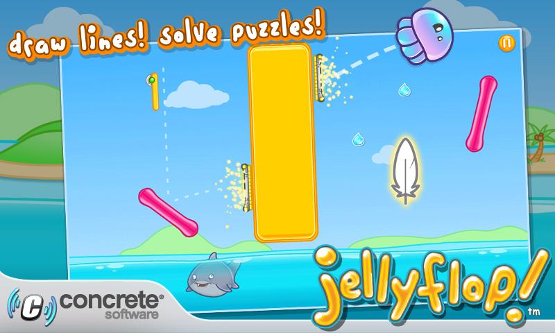 Jellyflop!- screenshot