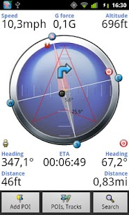 Tracky GPS Navigation+ Compass - screenshot thumbnail