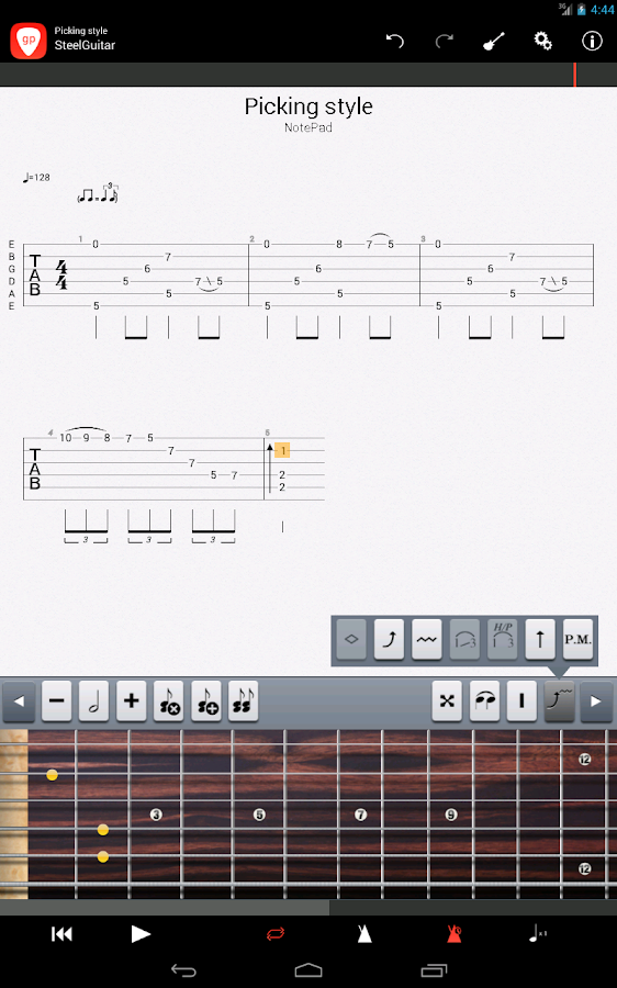 Guitar Pro - screenshot