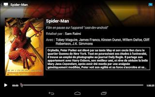 Screenshot of SFR TV