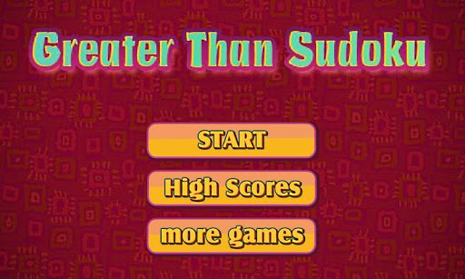Greater Than Sudoku Free