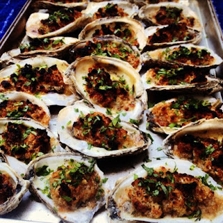 Baked Oysters.