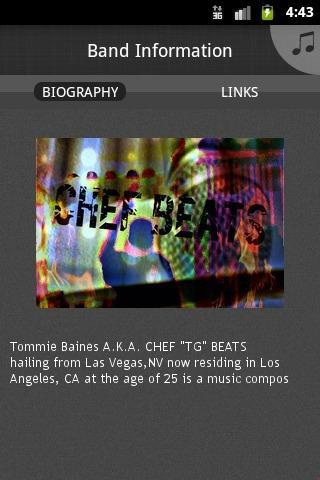 "Chef ""TG"" Beats - screenshot"