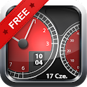 Car Widgets - súper coche rojo icon