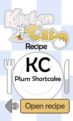KC Plum Shortcake