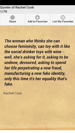 Quotes of Rachel Cusk