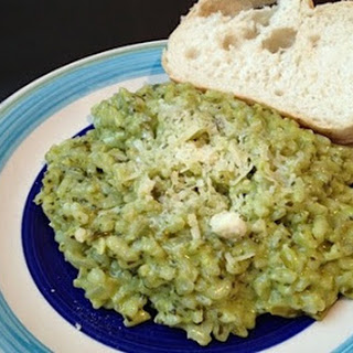 Spinach and Parmesan Risotto