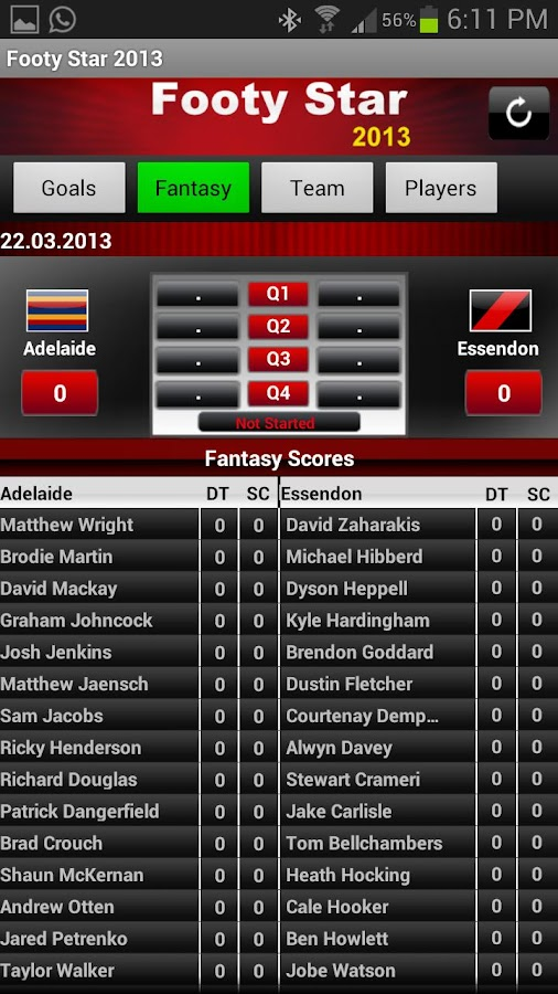 AFL Footy Star 2015 - screenshot