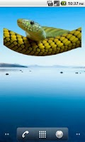 Screenshot of Snake Sticker