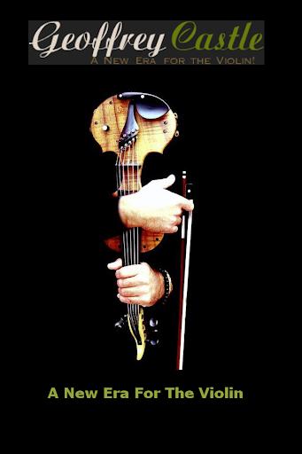 Geoffrey Castle Violin Man