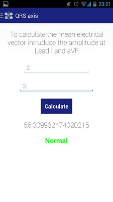 Medical calculator - screenshot