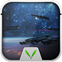 Space Warship Live LockerTheme icon