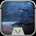 Space Warship Live LockerTheme icon
