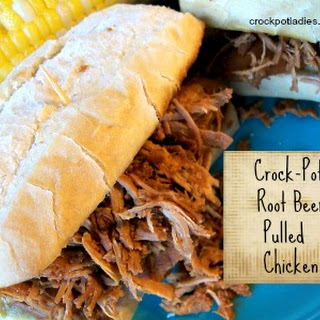 Crock-Pot Root Beer Pulled Chicken