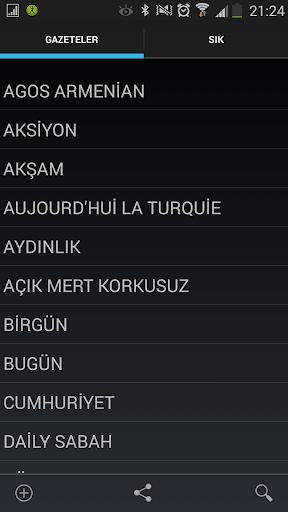 Turkish Newspapers