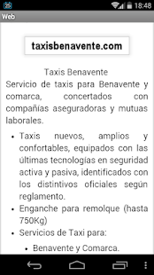 Taxis Benavente- screenshot thumbnail
