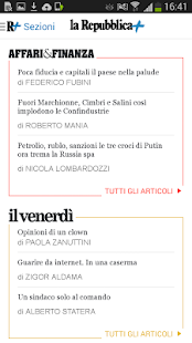 la Repubblica.it- screenshot thumbnail