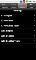 Screenshot of ATP/WTA Live