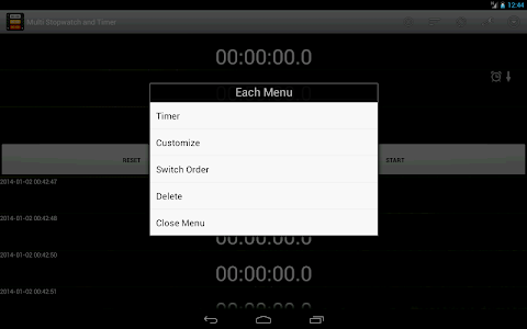 Multi Stopwatch & Timer  free screenshot 11