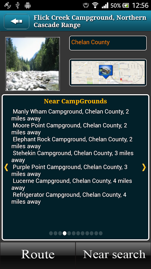 Washington Campgrounds- screenshot