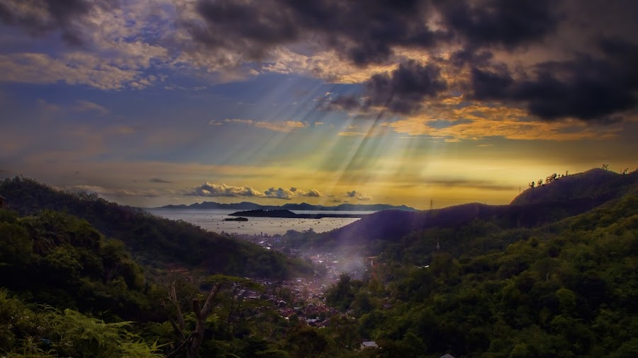 Sibolga by Alfonso Rahardja - Landscapes Mountains & Hills