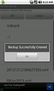 SMS Backup Scheduler & Restore - screenshot thumbnail