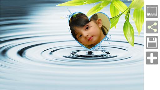 水フレームを愛する
