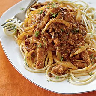 Fennel-Sardine Spaghetti