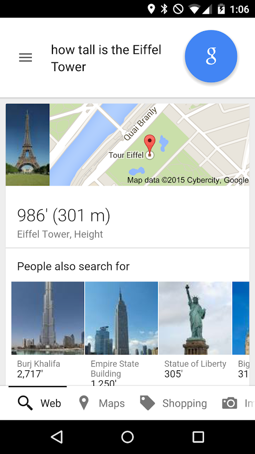 Google - screenshot