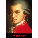 Mozart –  the man and the art logo