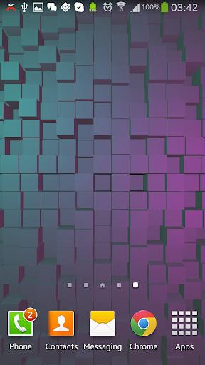 Cubes 2 3D Live Wallpaper Free