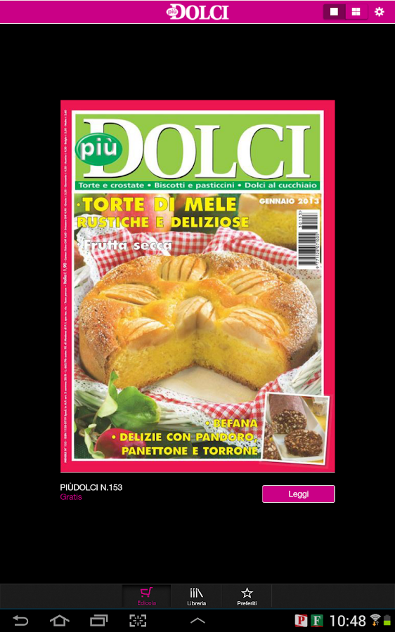 piùDOLCI- screenshot