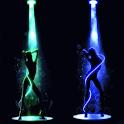 Neon Dancing Sexy Girl LWP !! logo
