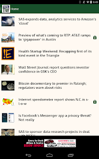 WRAL TechWire- screenshot thumbnail