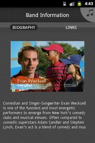 Evan Wecksell - screenshot