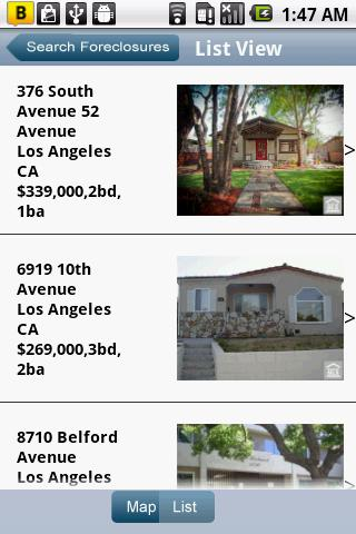 HUD Homes- screenshot