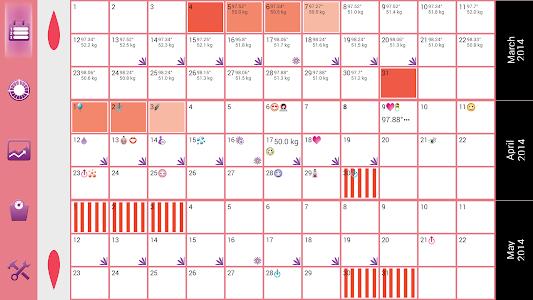 WomanLog Pro Calendar v2.4