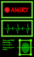 Screenshot of Fingerprint Scanner, Mood Scan