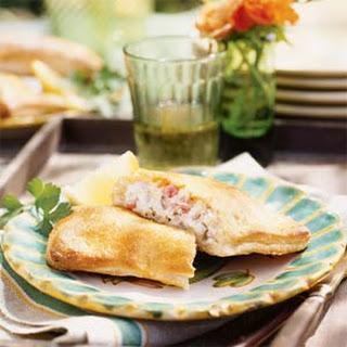 Chicken and Cheese Empanadas.